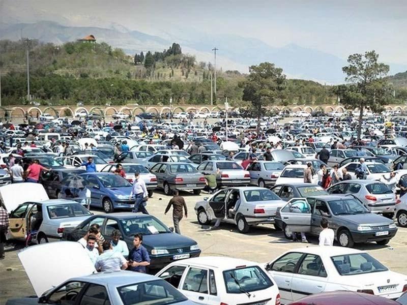 کاهش شدید قیمت خودرو در بازار