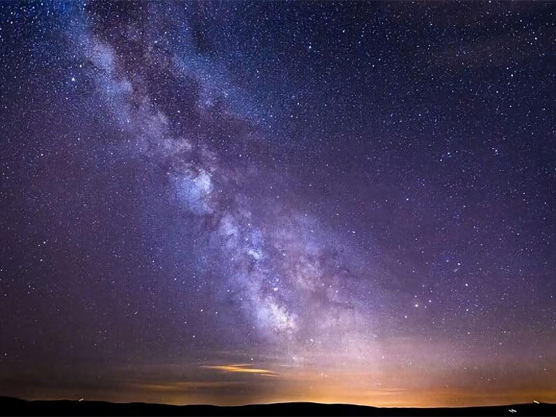رشته گاز عظیم ناشناخته در کهکشان راه شیری