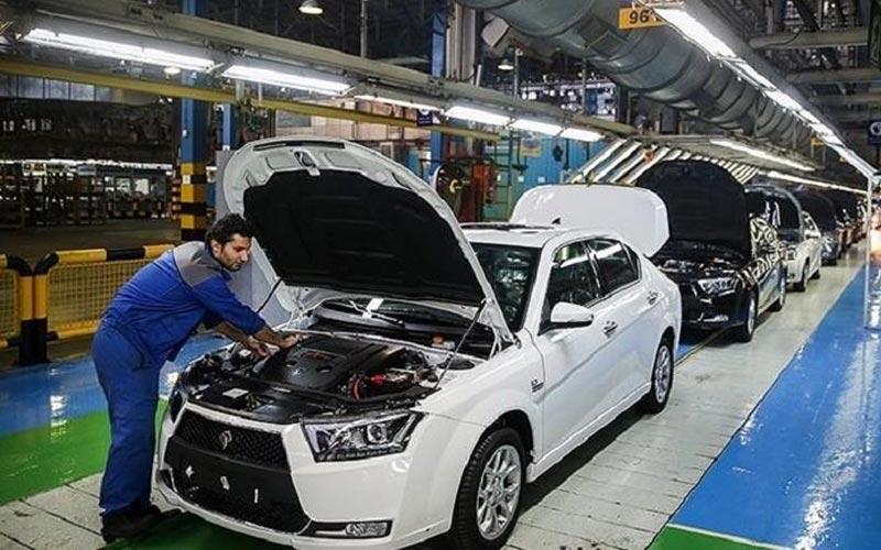 تولید خودروهای ناقص