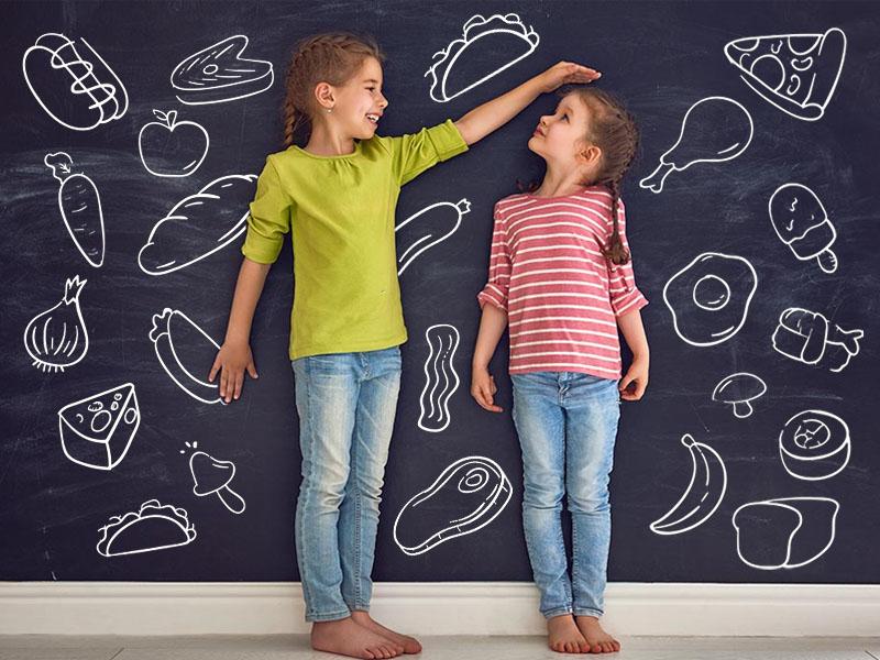 ترفندهای افزایش قد با خوردن 10 خوراکی خاص