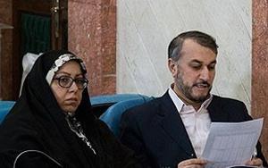 همسر حسین امیرعبداللهیان