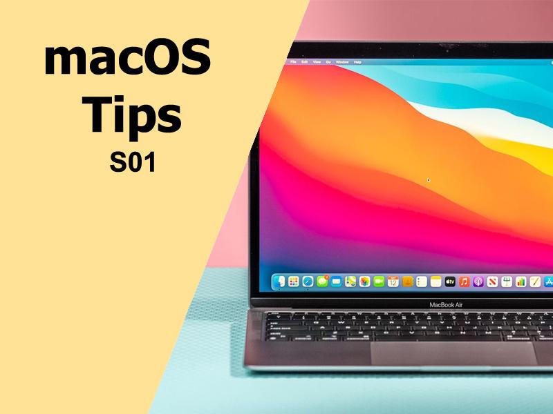 مهمترین ترفندهای macOS