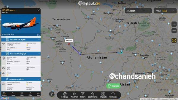 تکذیب ربایش هواپیمای اوکراینی و انتقال به ایران