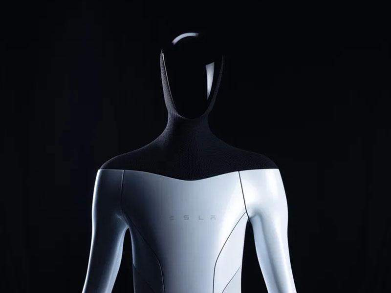 ربات انسان نمای تسلا