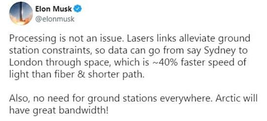 ادعای ایلان ماسک درباره سرعت استارلینک