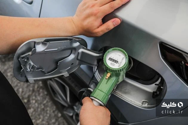 هدر دادن بنزین