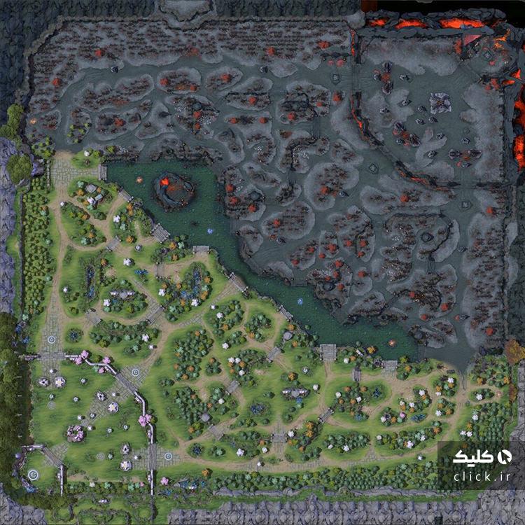 استراتژی های بازی Dota 2