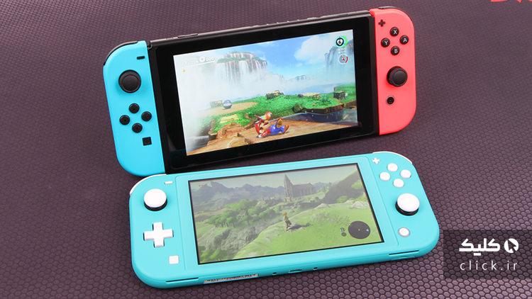 قیمت کنسولهای Nintendo Switch
