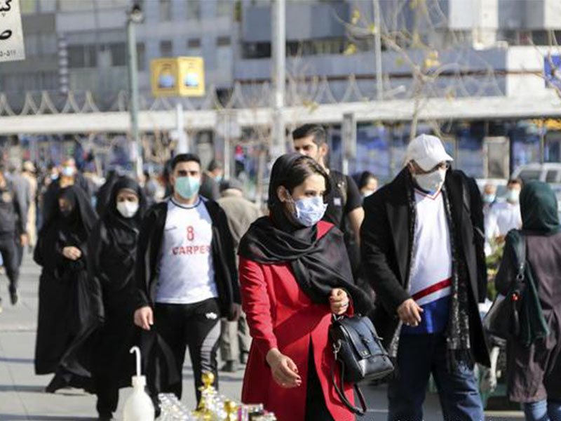 تمام شدن کرونا در ایران