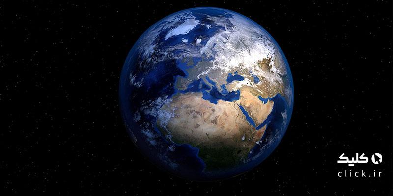 زمین گرد است