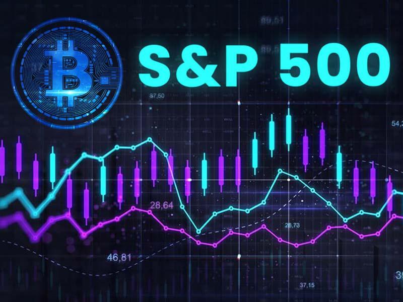 بیت کوین شاخص S&P 500