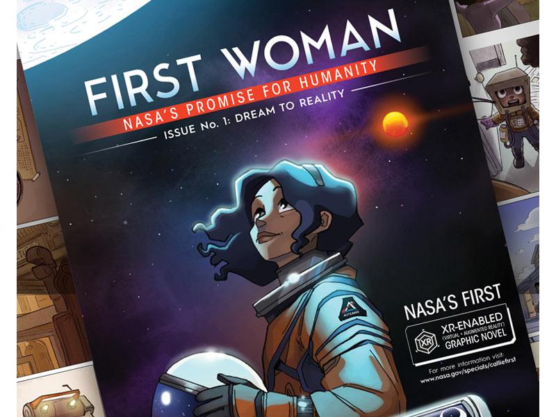 اولین رمان گرافیکی دیجیتالی ناسا