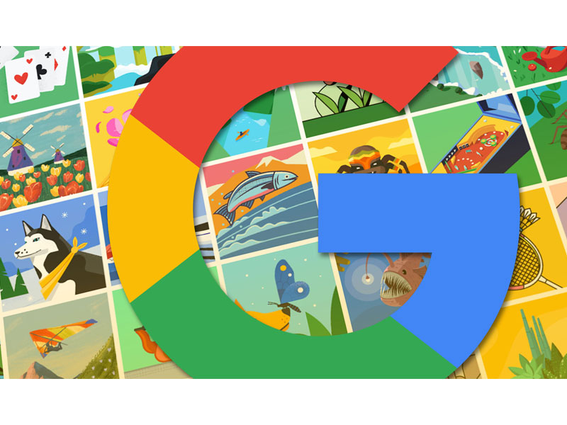 تصاویر Google Illustration برای پروفایل