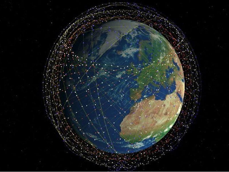 سرعت نور انتقال داده ماهواره استارلینک