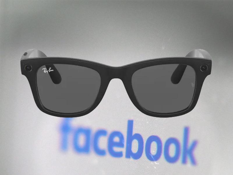عینک هوشمند ری بن و فیس بوک