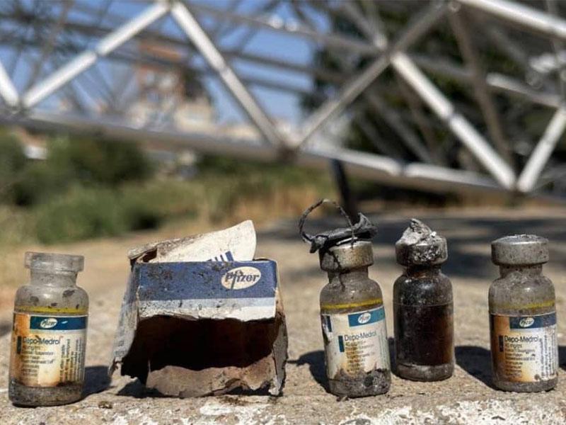 واکسن های فایزر معدوم شده در مهاباد