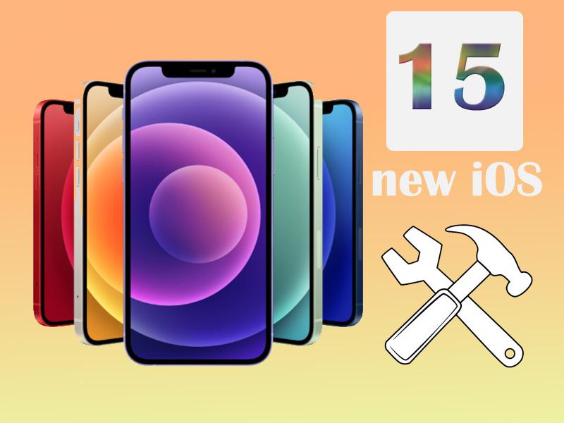 حل مشکلات iOS 15
