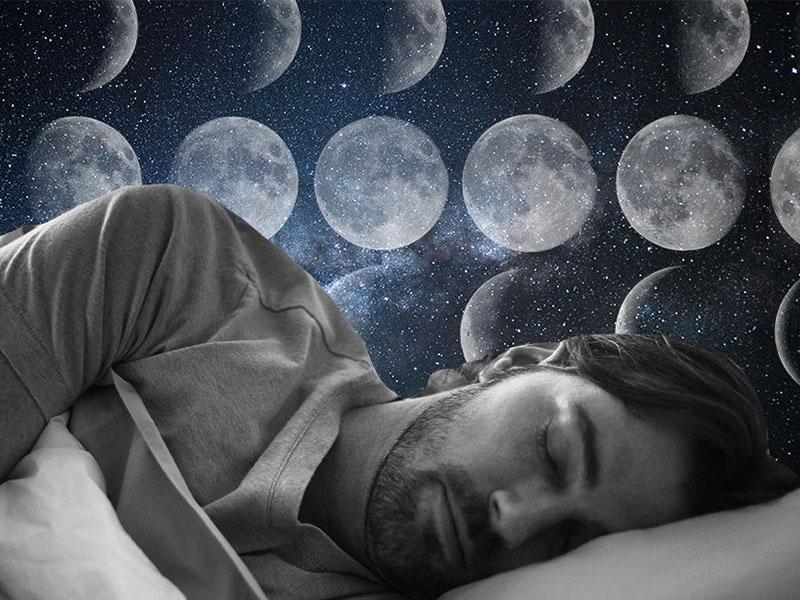 ماه خواب مردان را آشفته می کند
