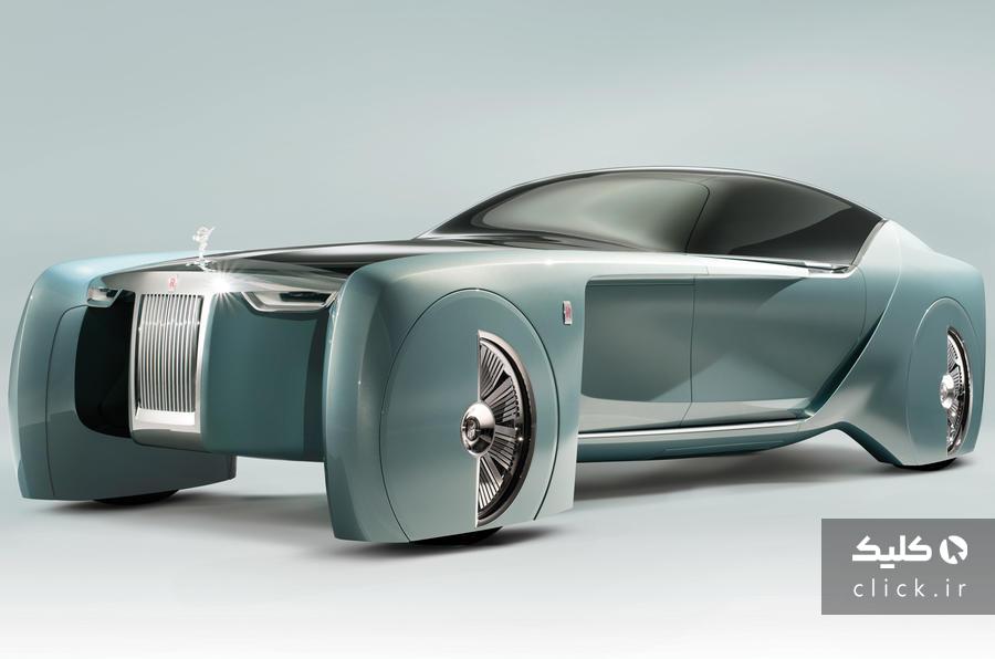 خودروی الکتریکی رولزرویس