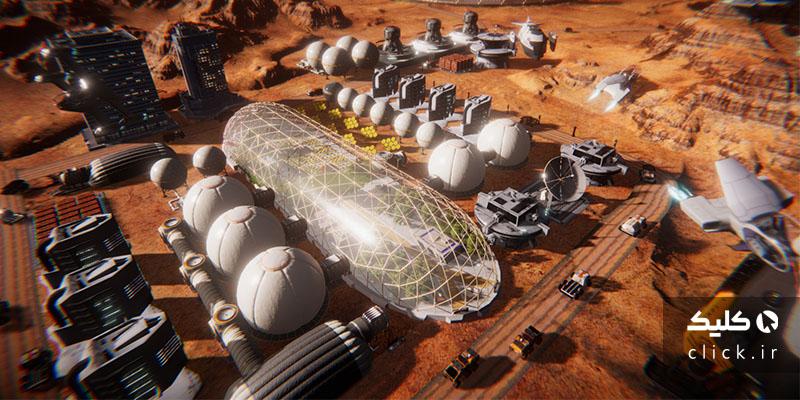 انسان های روی مریخ