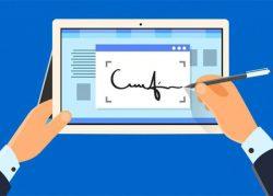 کنترل هوشمند امضا و مهر الکترونیکی