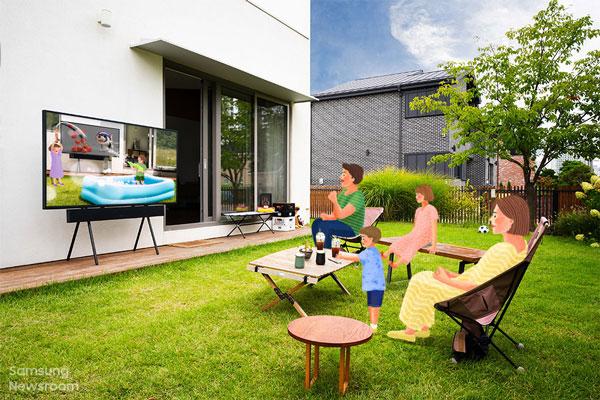 تلویزیونهای سری The Terrace سامسونگ