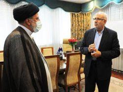 بازدید سرزده رئیسی از وزارت نفت