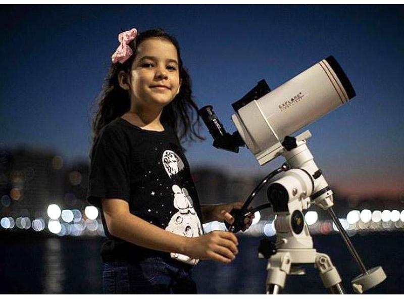 جوانترین ستاره شناس جهان