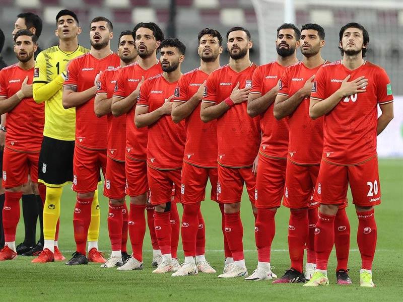 ساعت بازی ایران - امارات