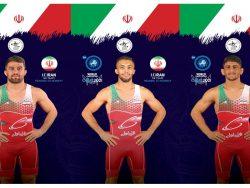 نایب قهرمانی ایران در مسابقات کشتی فرنگی