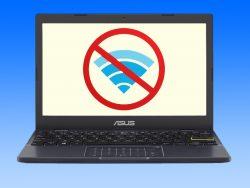 آموزش تصویری حل مشکل وای فای در لپ تاپ های ایسوس