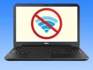 آموزش تصویری حل مشکل وای فای در لپ تاپ های دل