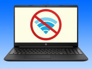 حل مشکل وای فای در لپ تاپ های اچ پی