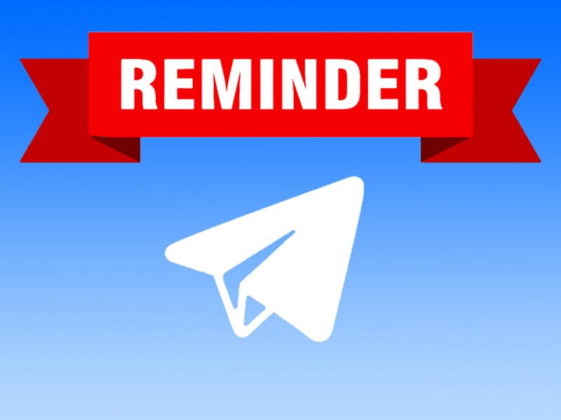 آموزش تصویری کار با Reminder تلگرام | تنظیم پیام یادآوری در تلگرام چگونه است؟